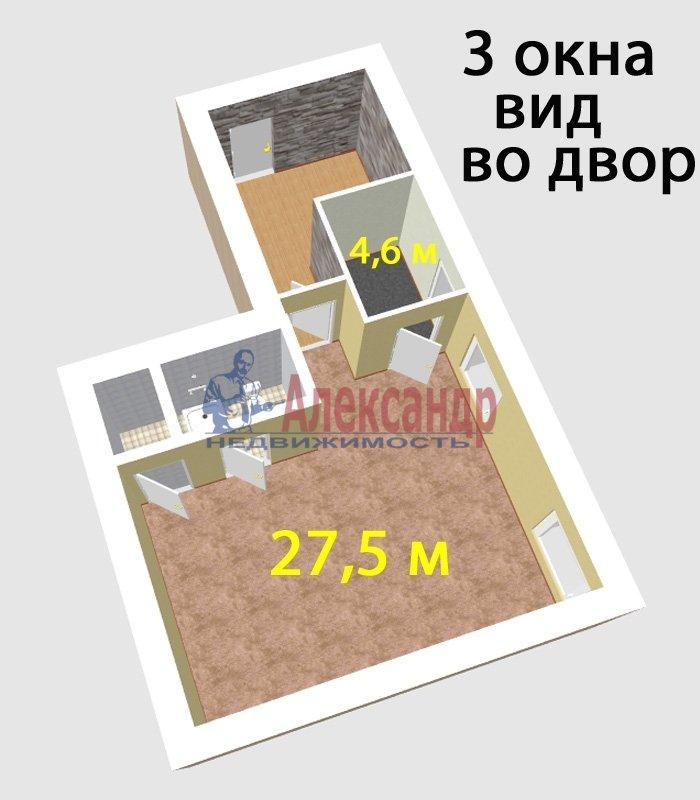 Помещение (45м2) в аренду — фото 1 из 6
