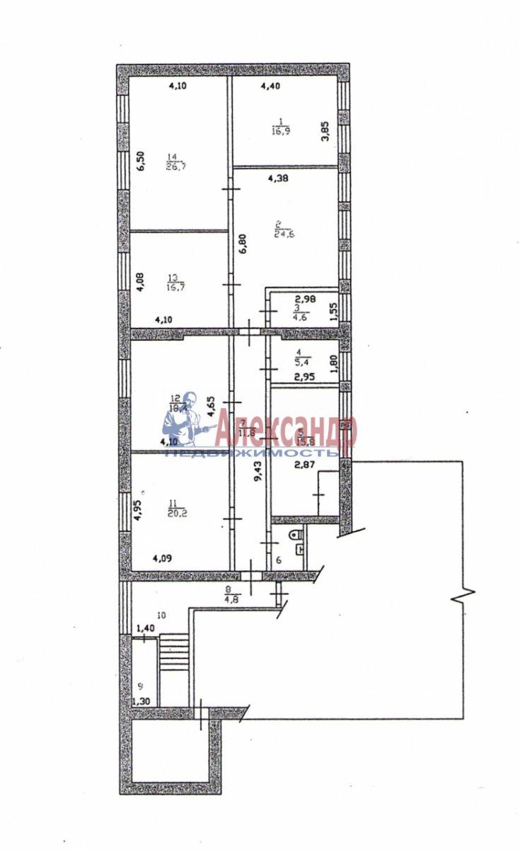 Офис (181м2) на продажу — фото 2 из 6