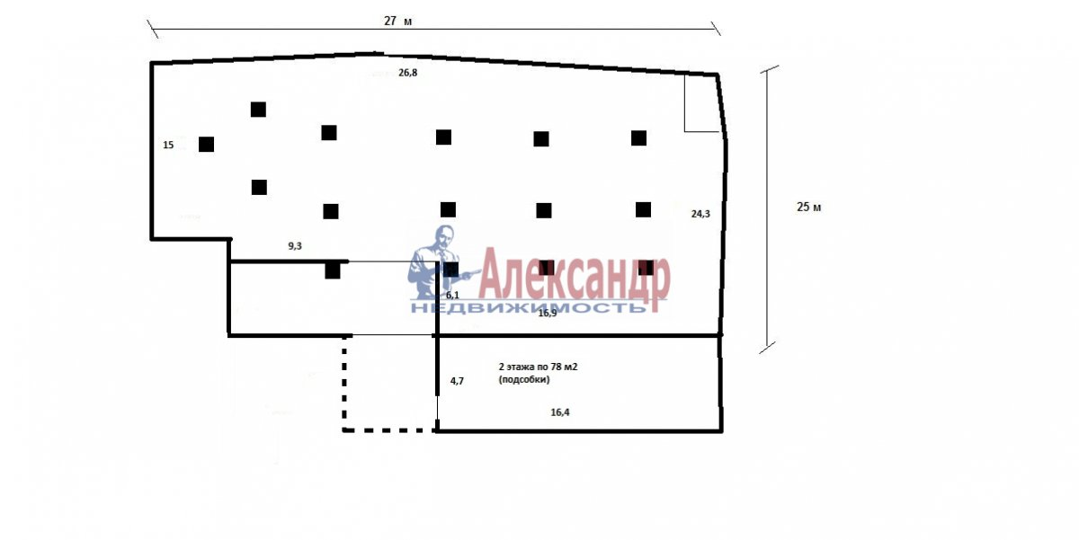 Производственное помещение (718м2) в аренду — фото 3 из 12