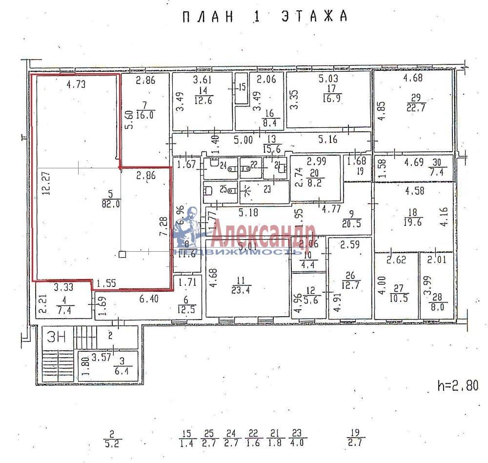 Офис (89м2) в аренду — фото 3 из 3
