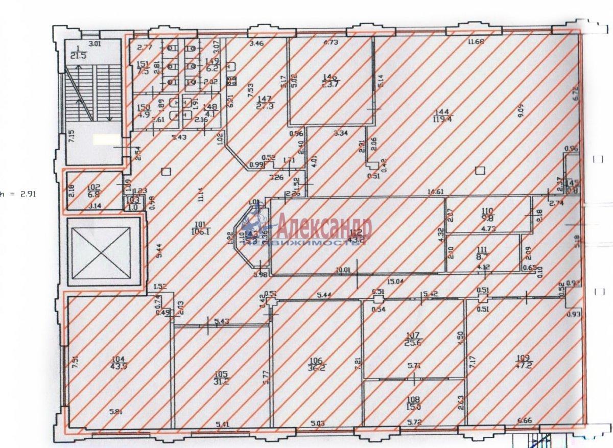 Офис (574м2) в аренду — фото 4 из 16