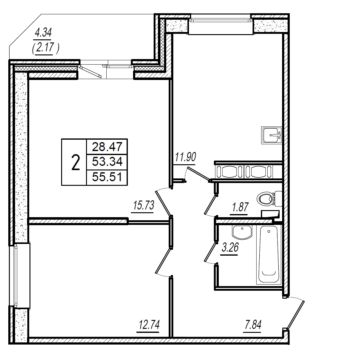 планировка квартир в рыбацком