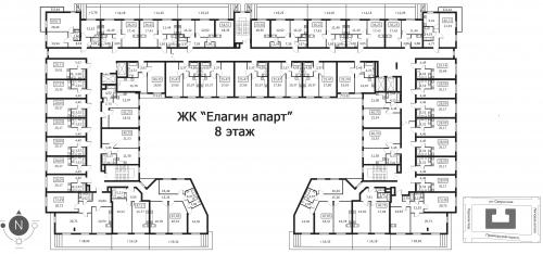 3-комнатная квартира на продажу (94,2 м<sup>2</sup>)