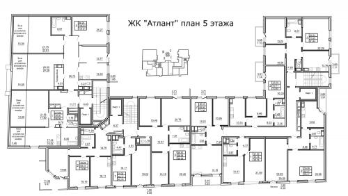 4-комнатная квартира на продажу (137,9 м<sup>2</sup>)