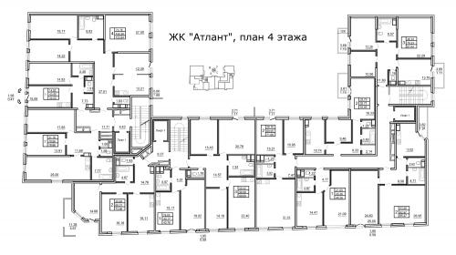 3-комнатная квартира на продажу (101,7 м<sup>2</sup>)