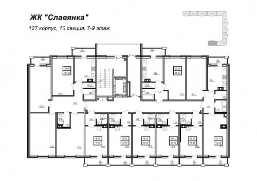 4-комнатная квартира на продажу (110,3 м<sup>2</sup>)