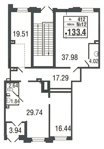 Коммерческая недвижимость на продажу (133,2 м<sup>2</sup>)