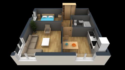 2-комнатная квартира на продажу (42,0 м<sup>2</sup>)