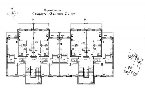 4-комнатная квартира на продажу (139,7 м<sup>2</sup>)