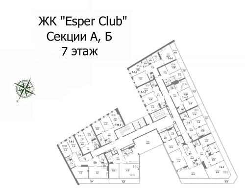 3-комнатная квартира на продажу (121,3 м<sup>2</sup>)