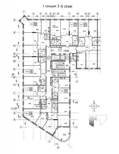 4-комнатная квартира на продажу (114,5 м<sup>2</sup>)