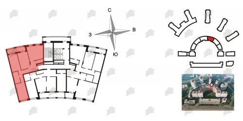 4-комнатная квартира на продажу (101,3 м<sup>2</sup>)
