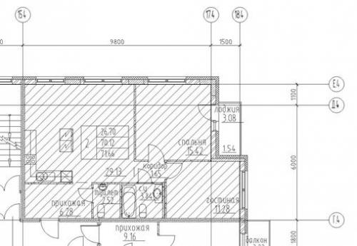 2-комнатная квартира на продажу (71,7 м<sup>2</sup>)