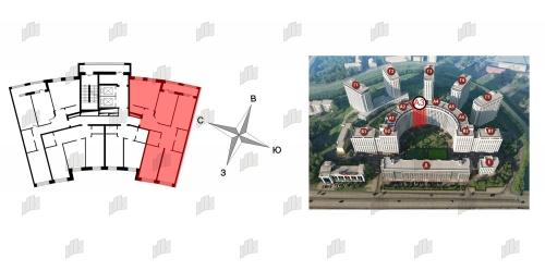 4-комнатная квартира на продажу (127,6 м<sup>2</sup>)