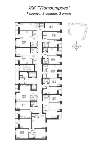 4-комнатная квартира на продажу (78,0 м<sup>2</sup>)