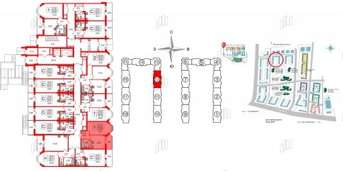 1-комнатная квартира на продажу (32,9 м<sup>2</sup>)