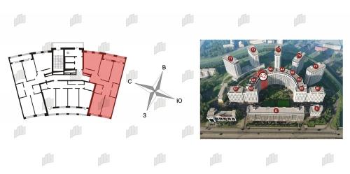 4-комнатная квартира на продажу (126,0 м<sup>2</sup>)
