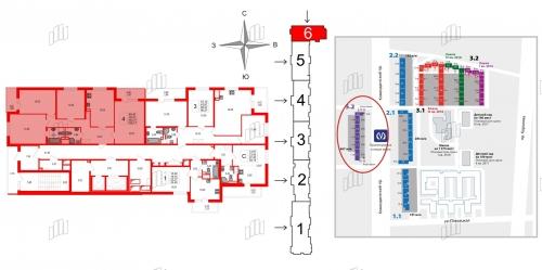 4-комнатная квартира на продажу (103,8 м<sup>2</sup>)