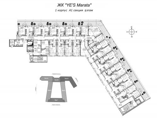 2-комнатная квартира на продажу (59,9 м<sup>2</sup>)