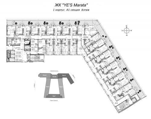 2-комнатная квартира на продажу (66,4 м<sup>2</sup>)
