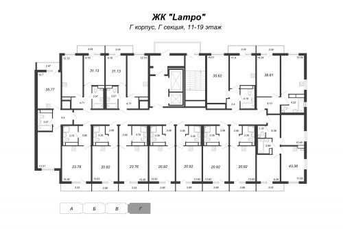 2-комнатная квартира на продажу (31,1 м<sup>2</sup>)