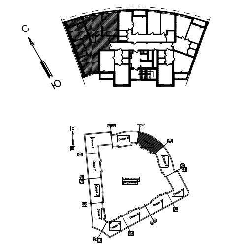 3-комнатная квартира на продажу (110,9 м<sup>2</sup>)