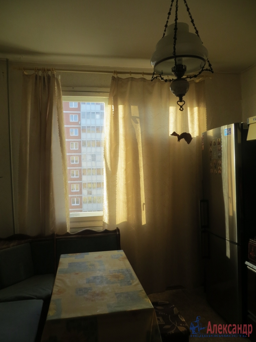 1-комнатная квартира (35м2) в аренду по адресу Ольги Берггольц ул., 17— фото 5 из 5