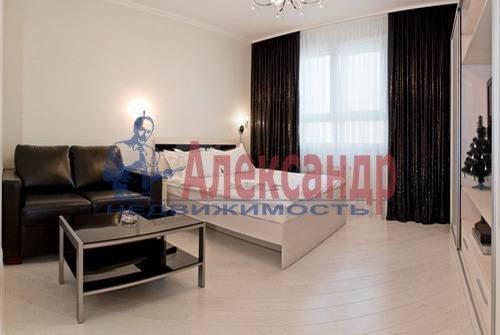 1-комнатная квартира (54м2) в аренду по адресу Всеволода Вишневского ул., 13— фото 4 из 8