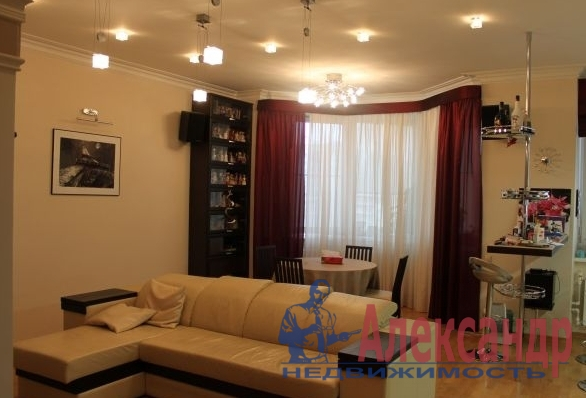 2-комнатная квартира (73м2) в аренду по адресу Шкиперский проток, 20— фото 1 из 3