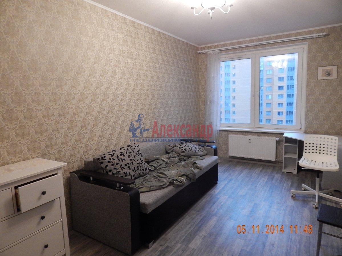 1-комнатная квартира (43м2) в аренду по адресу Мурино пос., Привокзальная пл., 3— фото 7 из 9