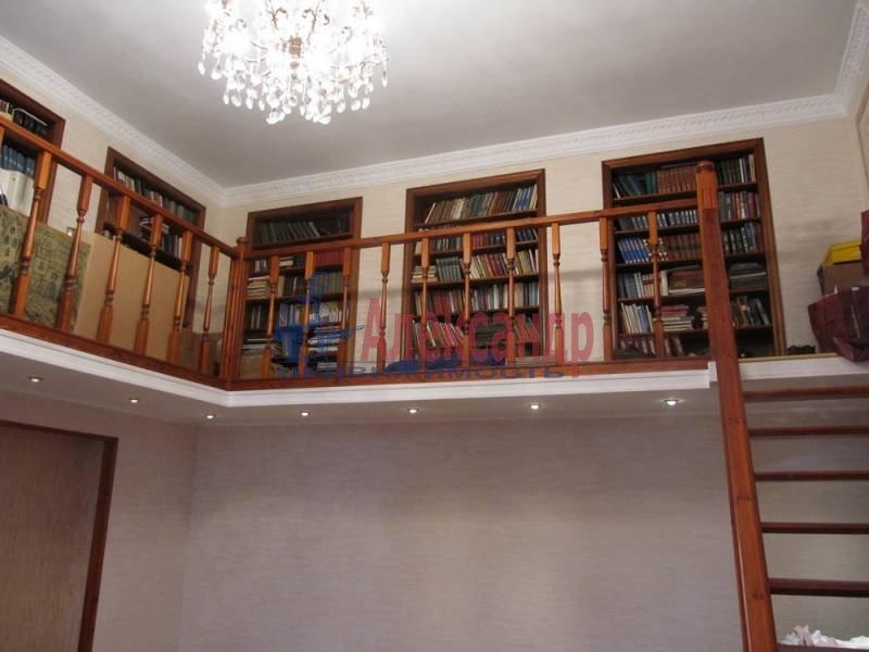 4-комнатная квартира (120м2) в аренду по адресу Университетская наб.— фото 5 из 5