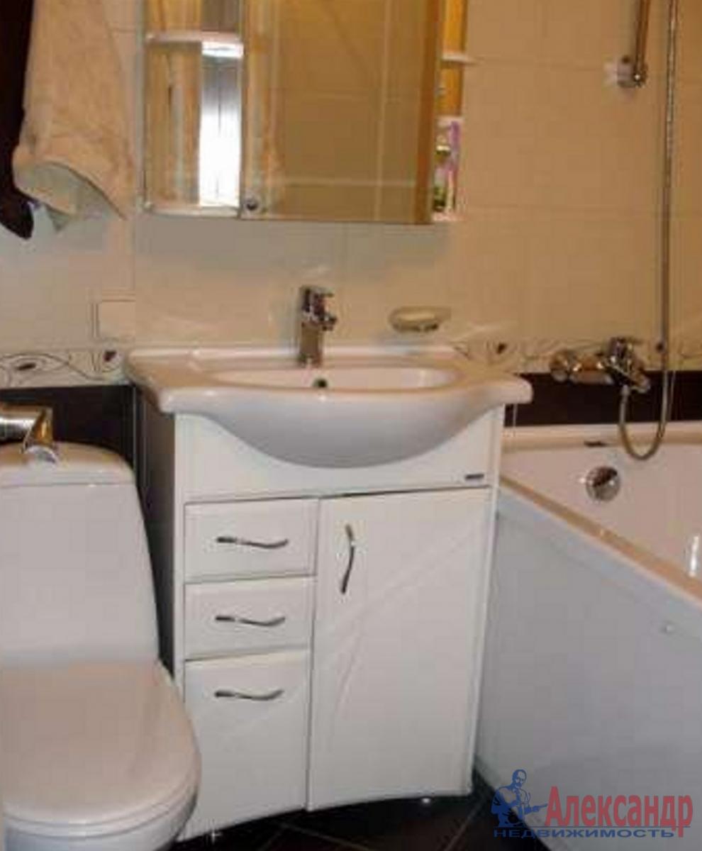 1-комнатная квартира (42м2) в аренду по адресу Ленинский пр., 95— фото 3 из 3