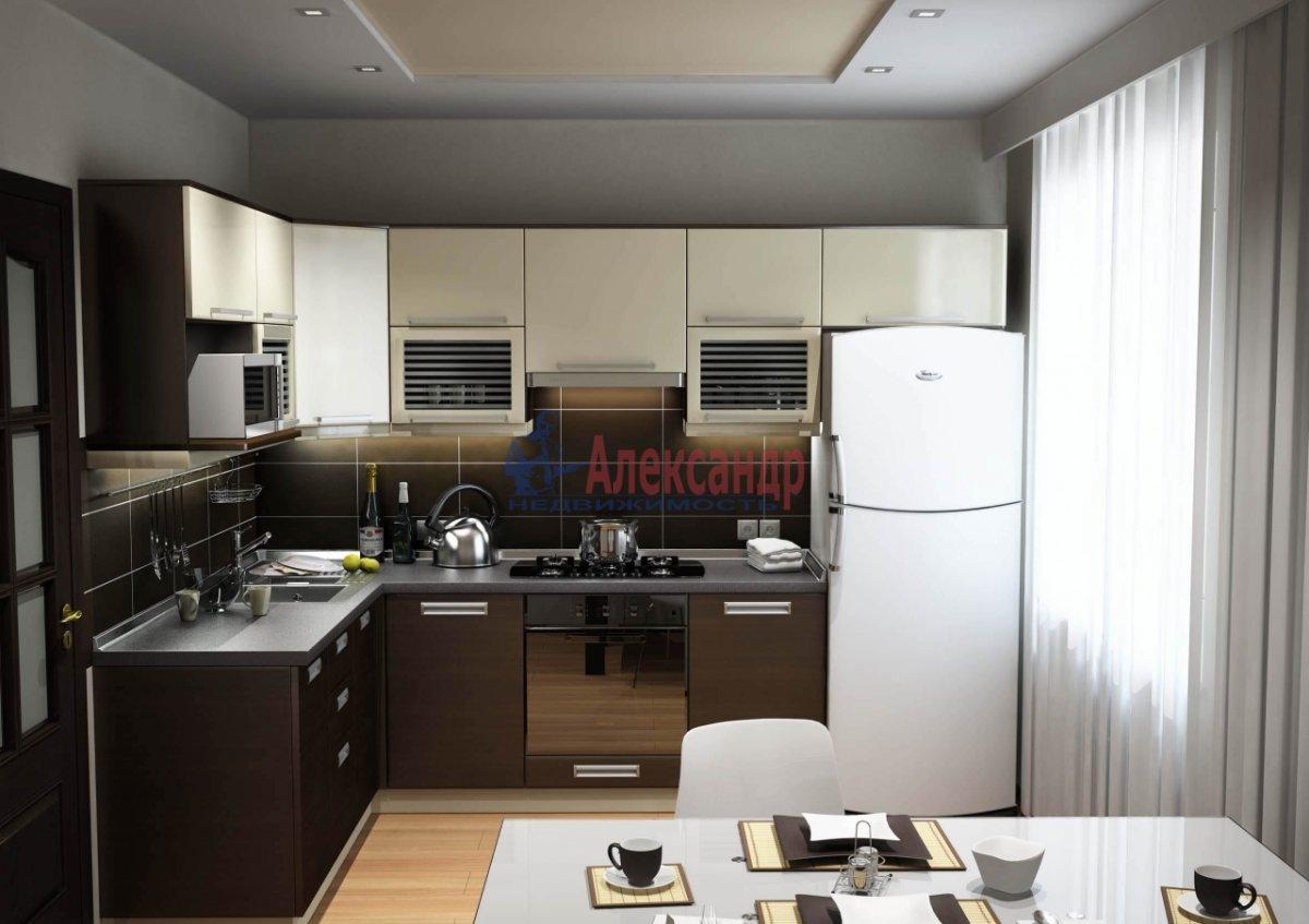3-комнатная квартира (80м2) в аренду по адресу Загребский бул., 9— фото 2 из 5