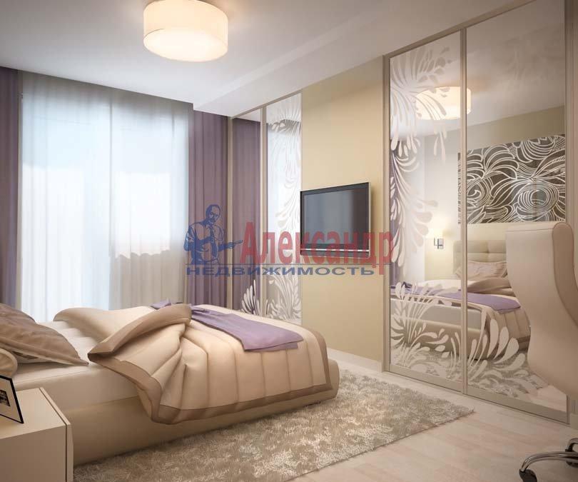 1-комнатная квартира (42м2) в аренду по адресу Богатырский пр., 49— фото 1 из 3