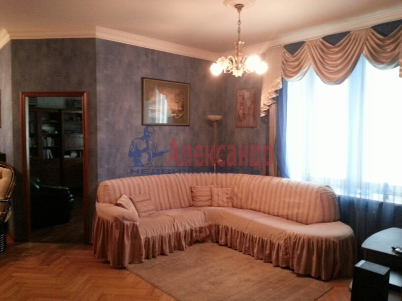 3-комнатная квартира (95м2) в аренду по адресу Черной Речки наб., 10— фото 4 из 16