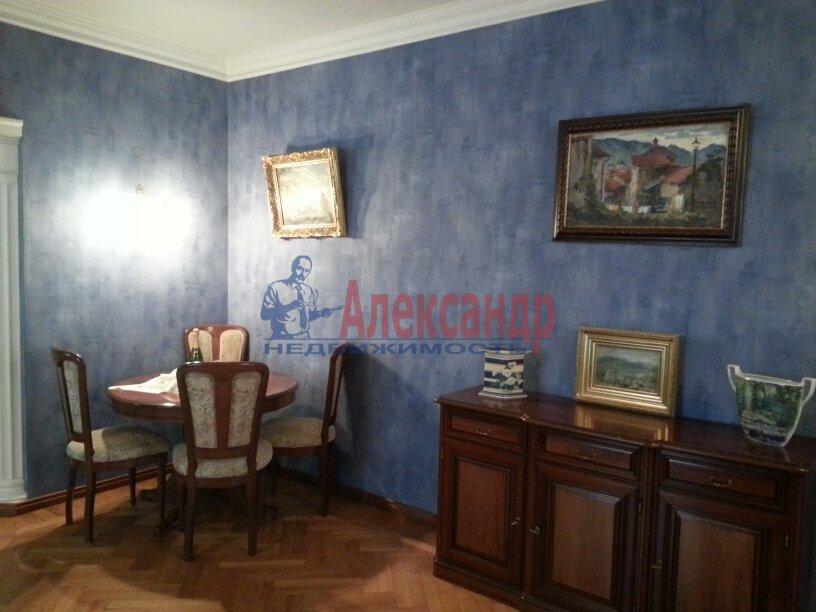 3-комнатная квартира (95м2) в аренду по адресу Черной Речки наб., 10— фото 6 из 16
