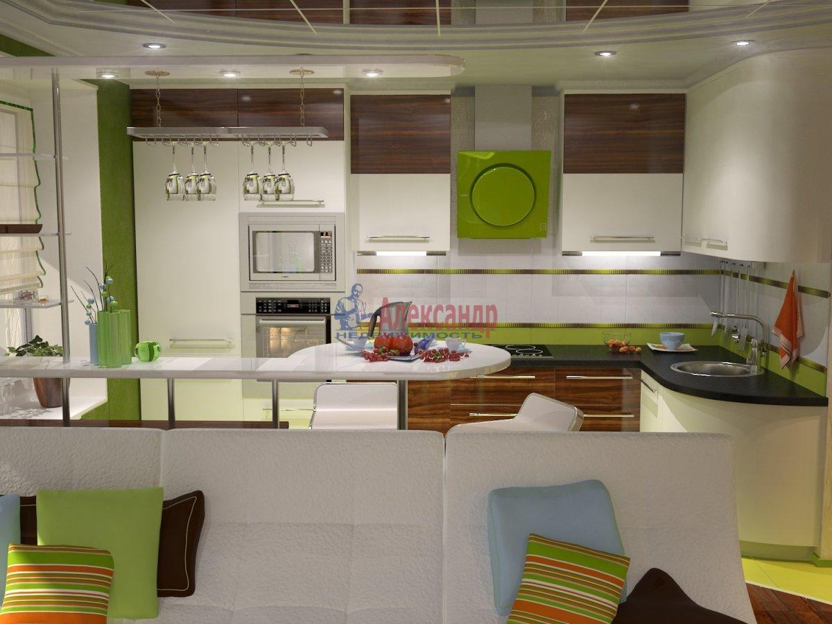 Дизайн кухни 23 кв.м