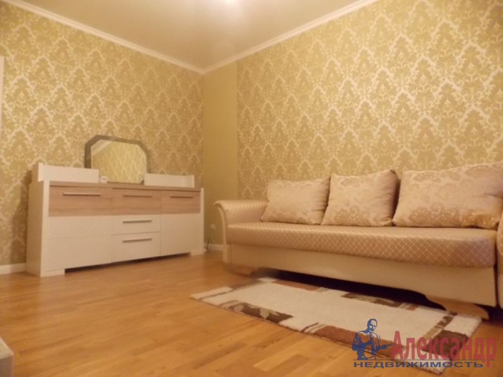 1-комнатная квартира (46м2) в аренду по адресу Железноводская ул., 32— фото 1 из 3