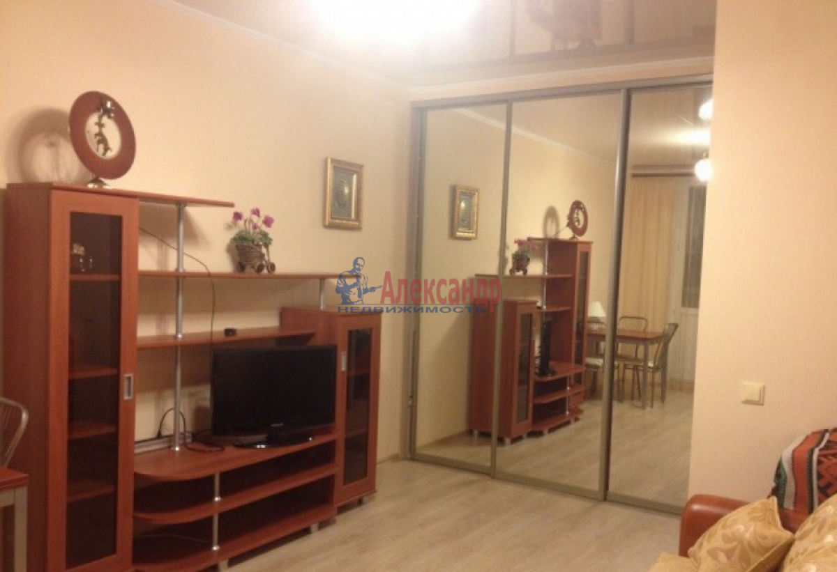 Комната в 2-комнатной квартире (45м2) в аренду по адресу Стойкости ул., 17— фото 2 из 4