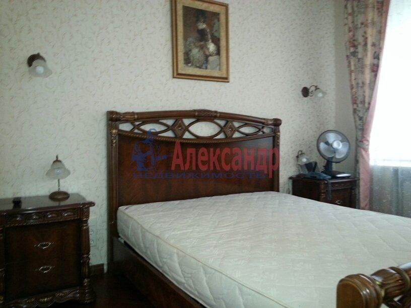3-комнатная квартира (95м2) в аренду по адресу Черной Речки наб., 10— фото 9 из 16