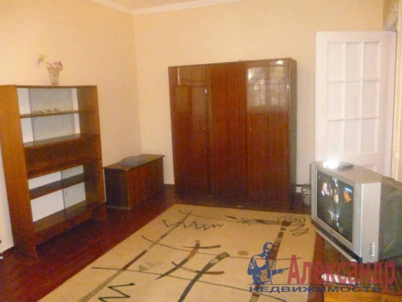 1-комнатная квартира (35м2) в аренду по адресу Выборгское шос., 25— фото 1 из 2