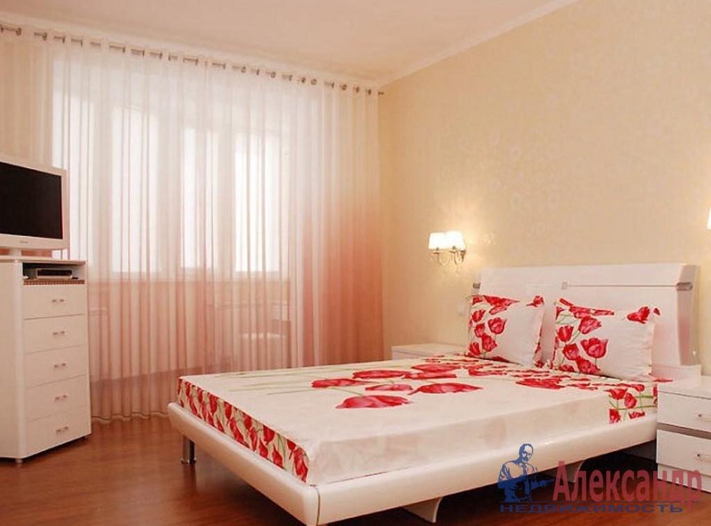 2-комнатная квартира (60м2) в аренду по адресу Ленинский пр., 84— фото 2 из 3