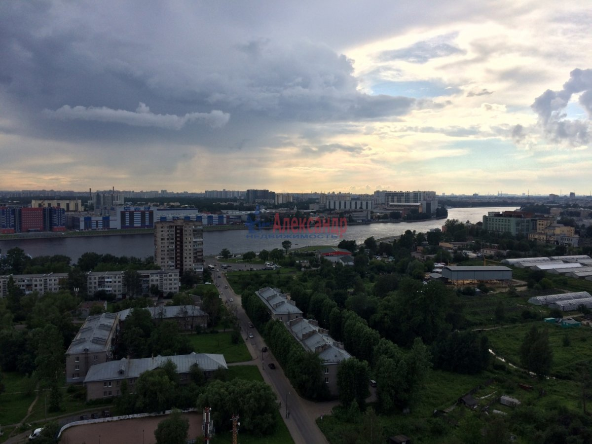1-комнатная квартира (35м2) в аренду по адресу Русановская ул., 9— фото 3 из 8