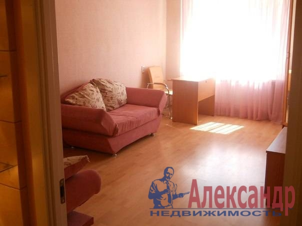 1-комнатная квартира (39м2) в аренду по адресу Гражданский пр., 122— фото 2 из 3