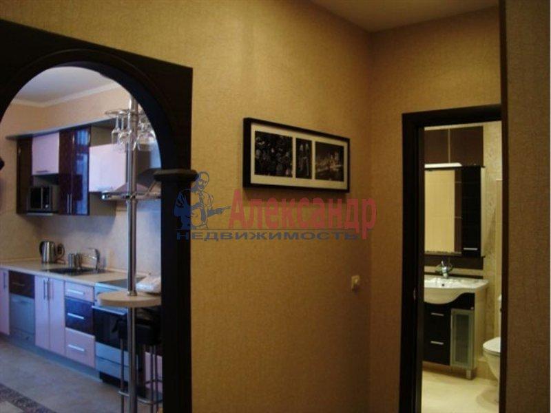 1-комнатная квартира (36м2) в аренду по адресу Ленинский пр., 127— фото 2 из 3