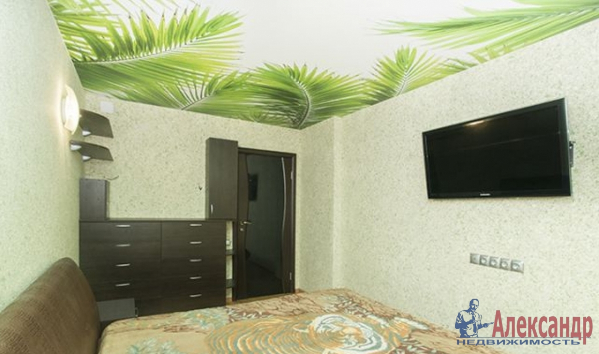 2-комнатная квартира (60м2) в аренду по адресу Пулковская ул., 9— фото 3 из 3