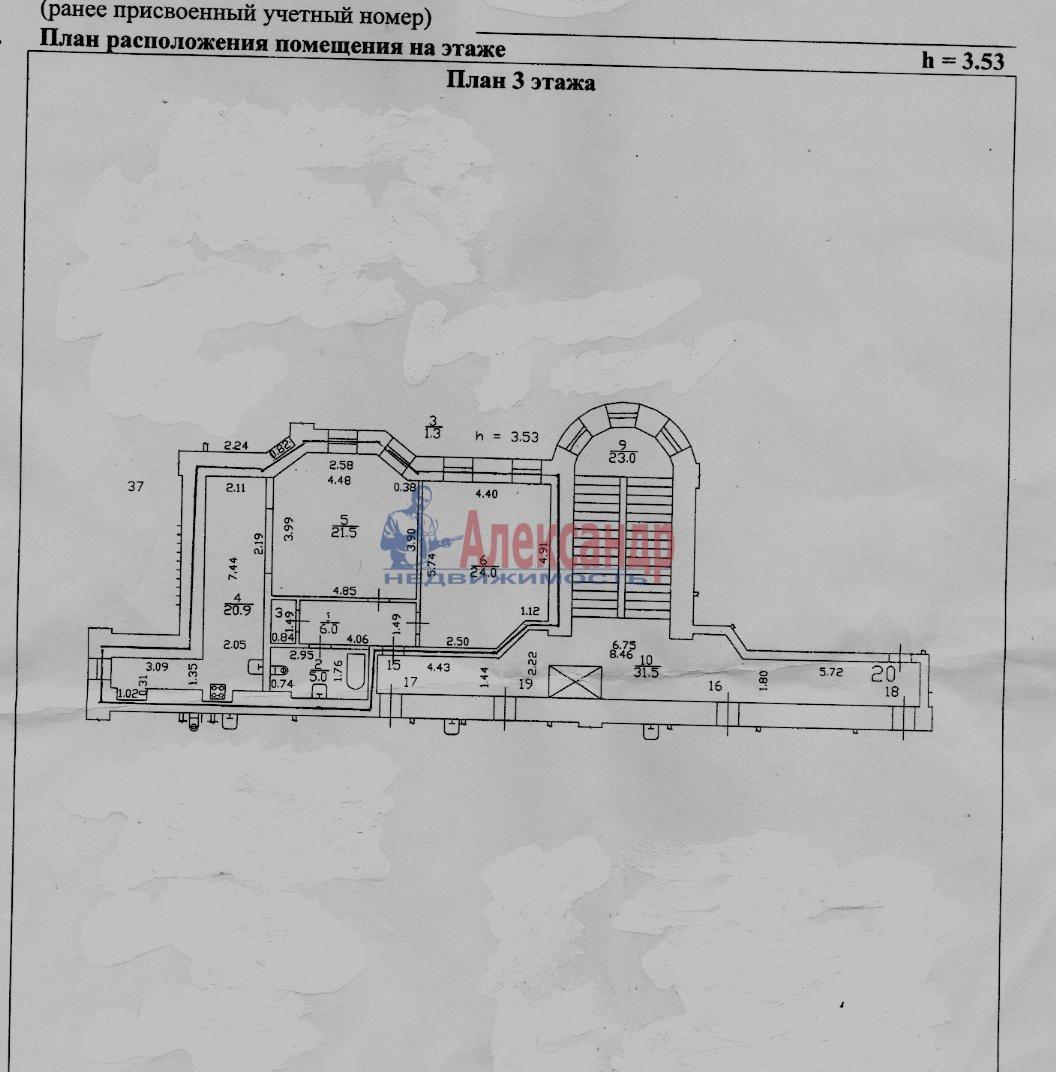 2-комнатная квартира (80м2) в аренду по адресу 5 Советская ул., 4— фото 7 из 16