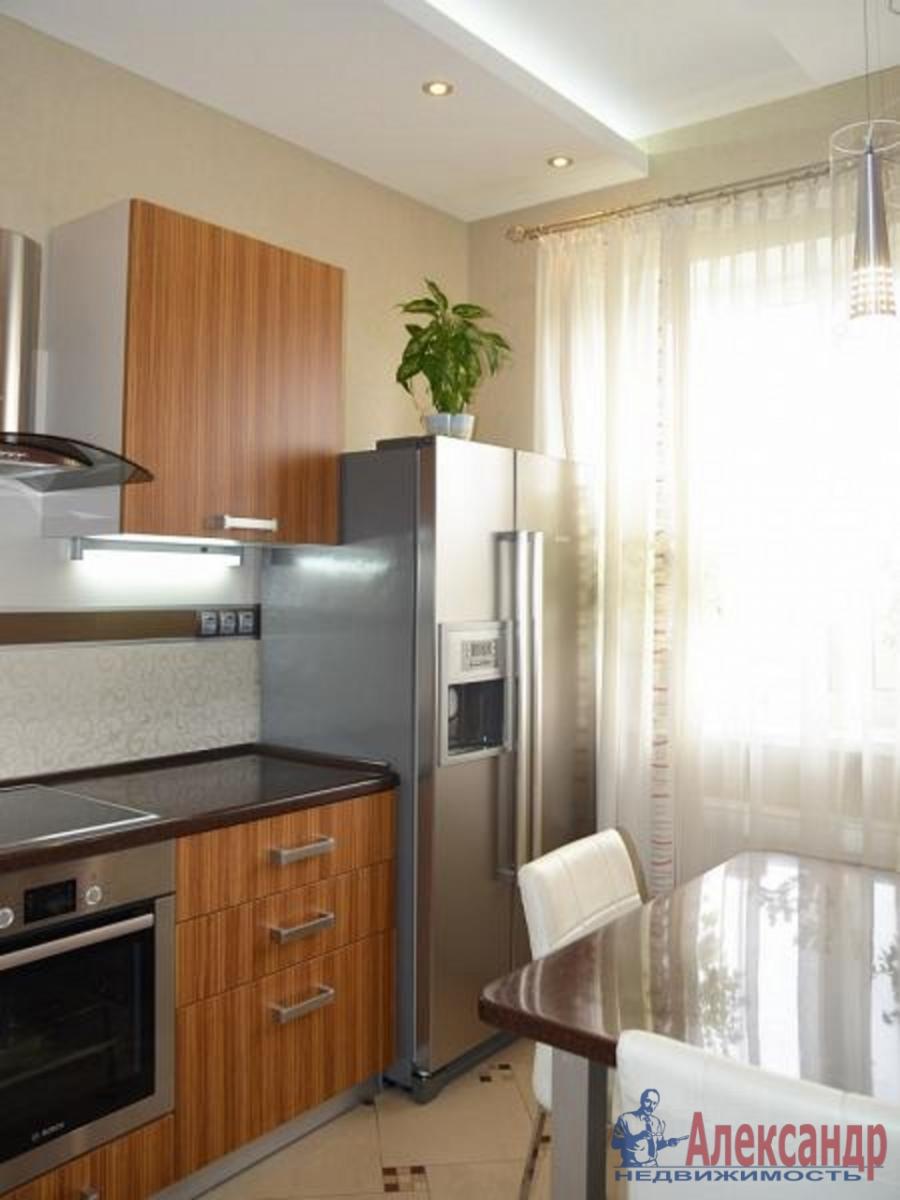 1-комнатная квартира (41м2) в аренду по адресу Кораблестроителей ул., 30— фото 3 из 4