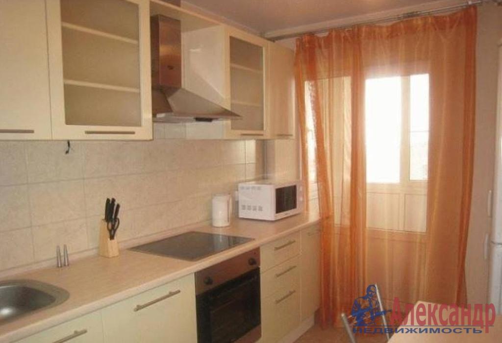 1-комнатная квартира (43м2) в аренду по адресу Оптиков ул., 50— фото 2 из 3