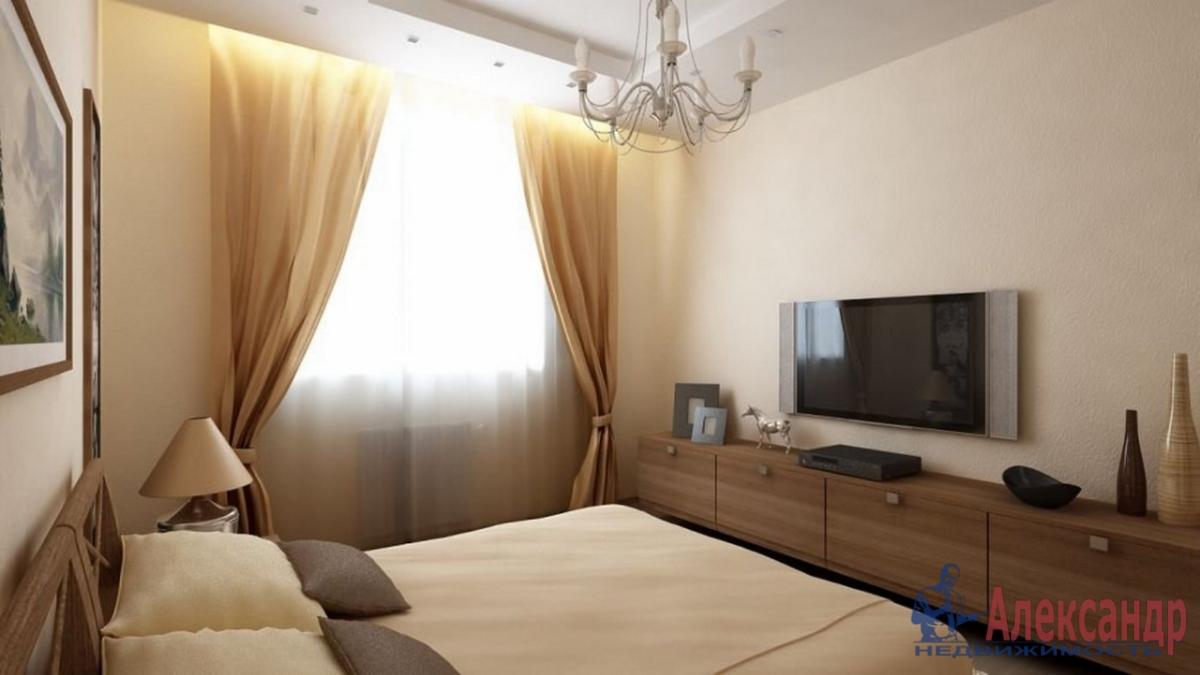 2-комнатная квартира (95м2) в аренду по адресу Профессора Попова ул., 27— фото 2 из 4